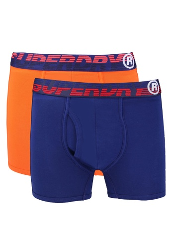SUPERDRY multi Speed Sport Boxer Double Pack E8B78US05EE689GS_1
