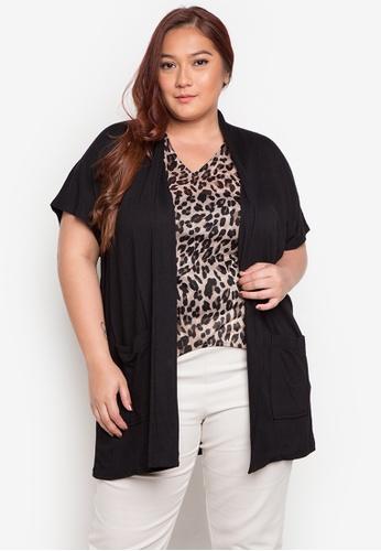 Audrey black Malou Plus Size Blouse AU926AA0JOXEPH_1