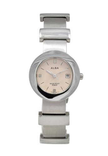 Alba silver ALBA Jam Tangan Wanita - Silver Peach - Stainless Steel - AXTD97 CB6B5ACF509713GS_1