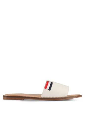 Alfio Raldo white Slip-On Sandals D16E2SH1F1F471GS_1