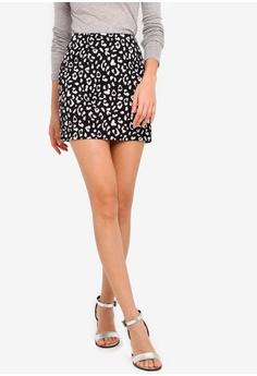 76a3b891a Something Borrowed black Mini Pelmet Skirt 4C590AAB121D5FGS_1