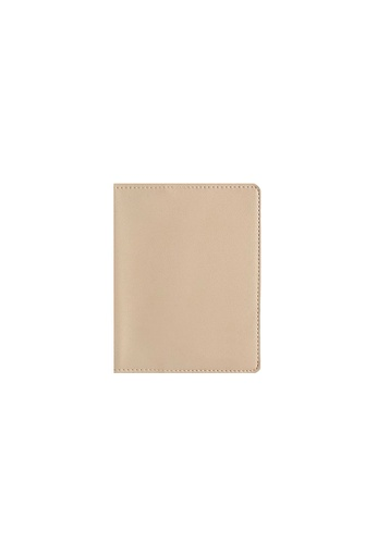 Knocks beige Classic Passport Sleeve Cream 883A2AC5AB24DAGS_1