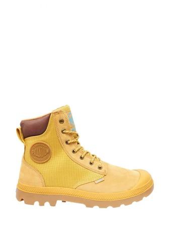 Palladium Boots gold Pampa Sport Cuff WPN Men's Boots F40AESH81A1F2AGS_1