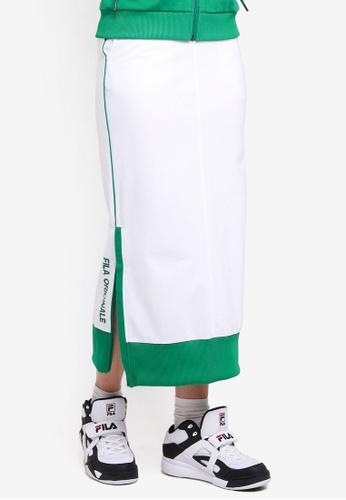 FILA white Originale Skirt 161B0AA8872B92GS_1