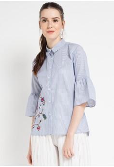 B.L.F blue Doreen Embro Shirt B5FFDAADF083D1GS_1