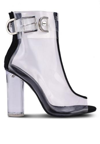 Public Desire black Glazed Boots 771A6SHD64F674GS_1