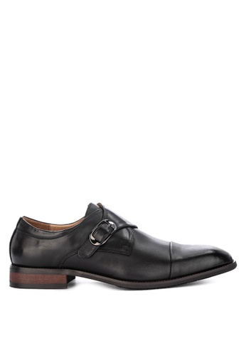 Gibi black Wax Formal Shoes A7F48SHE6220BDGS_1