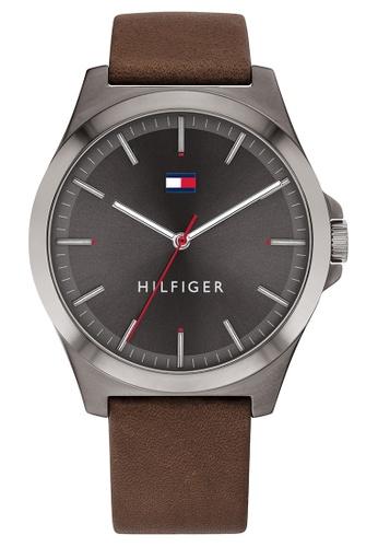 Tommy Hilfiger grey Tommy Hilfiger Grey Men's Watch (1791717) AA86FAC1BED569GS_1