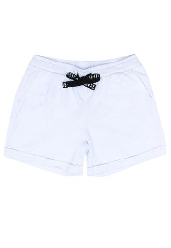 FOX Kids & Baby white Jersey Shorts F05CDKA5854DE2GS_1