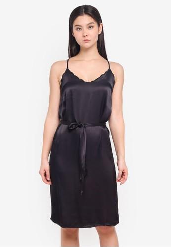 ICHI black Love Dress B5918AA37531B5GS_1