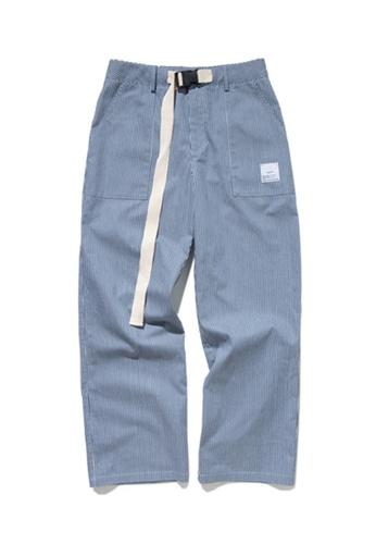 Twenty Eight Shoes Loose Stripe Casual Pants 93421W 5F352AAB253D25GS_1