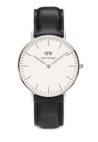 Daniel Wellington black and multi Classic Sheffield-Watch Silver 36mm DA965AC0UKRJID_1