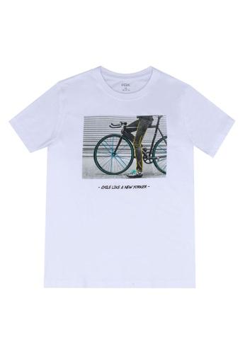 FOX Kids & Baby white Kids Boy Short Sleeves Tee 0C610KA785AF76GS_1