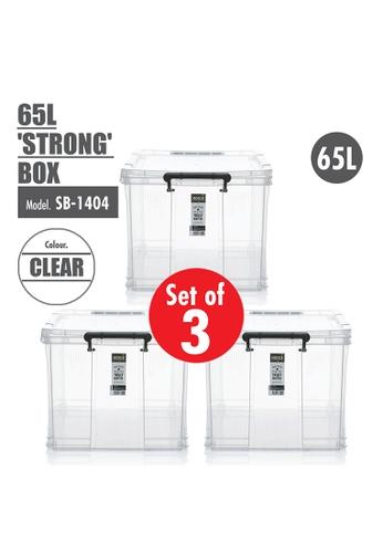 HOUZE [SET OF 3] HOUZE 65L 'STRONG' Box 934D6HL085042EGS_1