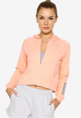PUMA pink RTG Full-Zip Women's Hoodie A3DC9AABBFE122GS_1