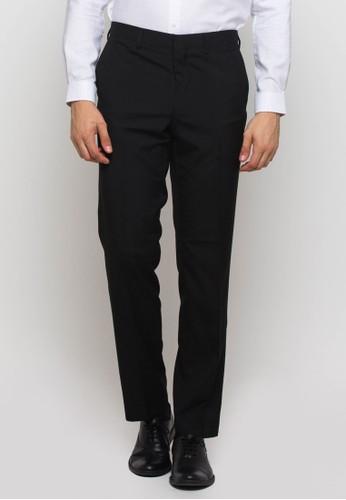 The Executive black Long Pants Black 1021DAA647BB6DGS_1