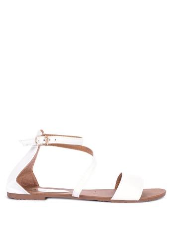 55963085caf Shop H2Ocean Kayse Flat Ankle Strap Sandals Online on ZALORA Philippines