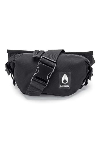 Nixon black Trestles Hip Pack - Black Nylon (C28511148) E8F29AC847B4E0GS_1