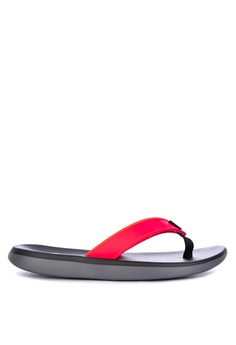 e2d483e0fae905 Nike red and silver Nike Kepa Kai Sandals 6AE63SH620B5D9GS 1