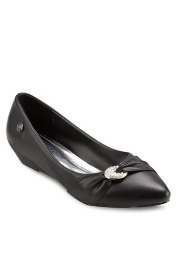閃飾尖頭低跟鞋, 女鞋, esprit暢貨中心厚底楔形鞋