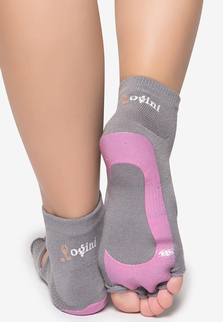 3 in 1 5-Finger Open Toe Yoga Socks