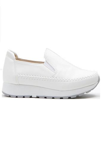 Crystal Korea Fashion 白色 韓國製百搭舒適內增高輕便鞋 CB2B8SHC6D6D6EGS_1