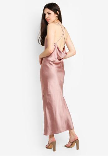 f48b03e655 Buy TOPSHOP Plain Satin Slip Dress