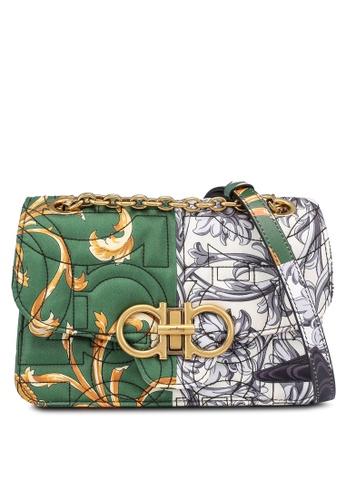 Ferragamo multi Quilted Gancini Shoulder Bag (zt) 53208AC66A048EGS_1