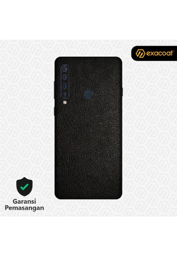 Exacoat Galaxy A9 (2018) 3M Skins Leather Series - Leather Black 4E413ES0C43600GS_1