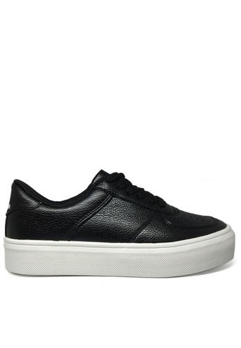 Twenty Eight Shoes black Soft Synthetic leather sneaker TW446SH97FYOHK_1
