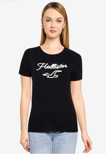 Hollister black Tech Core T-Shirt 4AA19AADED8EC7GS_1