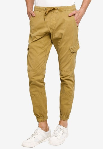 Indicode Jeans brown Casual Cargo Pants 3A741AA31D1C41GS_1