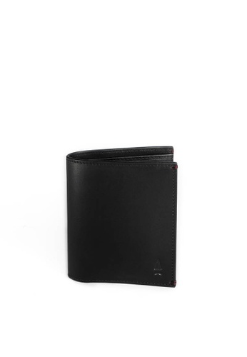 Gnome and Bow black Pine Card Wallet GN097AC70MQFSG_1