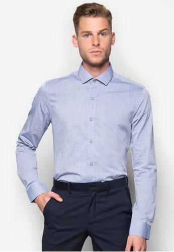 印花長袖襯衫,esprit 內衣 服飾, 襯衫
