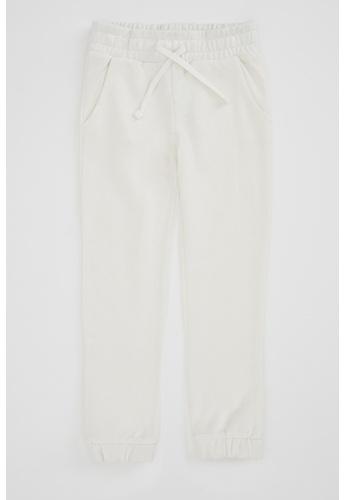 DeFacto beige Girl Knitted Bottom Trousers 34CF1KA25FBB9CGS_1