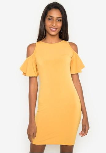 Huxley yellow Helmenia Dress HU539AA0JATBPH_1