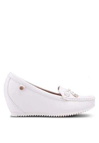 Carlton London white Wedge Loafers E2BADSH0D7615EGS_1