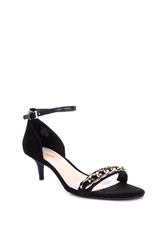 da58cb49039 40% OFF Nine West Lioness Heeled Sandals Php 5