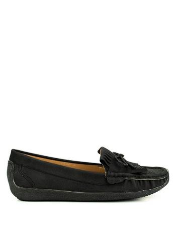 Mario D' boro Runway black Addison Flat Shoes B3EA2SH5183333GS_1