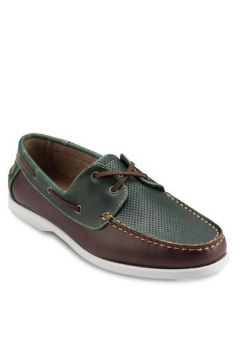 雙眼撞色休閒鞋, 鞋,esprit專櫃 懶人鞋