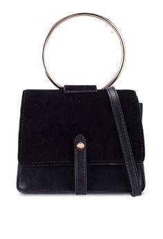 1a63d36fe Violeta by MANGO black Ring Flap Bag E6EAAACA1E0009GS_1