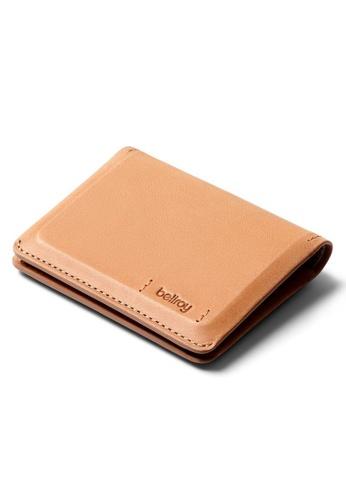 Bellroy beige Bellroy Slim Sleeve Wallet (Premium Edition) - Natural 489A3ACE5222B4GS_1