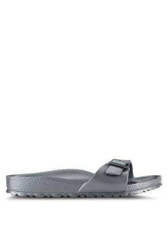 Birkenstock silver Madrid EVA Sandals BI090SH0RTIIMY_1