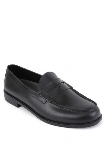 Easy Soft by World Balance black Trenton Formal Shoes 699B3SH4D7F1FBGS_1
