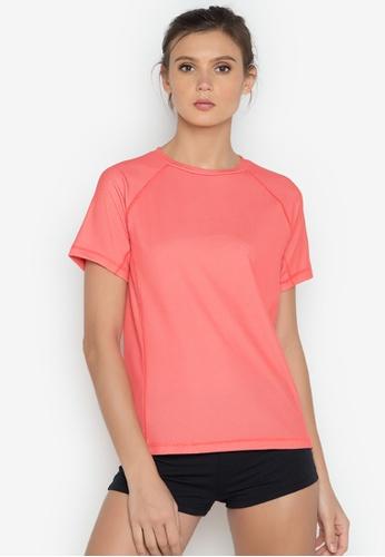 Verve Street pink Rona Sports Tee VE915AA0JP0VPH_1