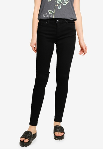 Springfield black Classic Sustainable Skinny Jeans D2DCCAA350D68DGS_1