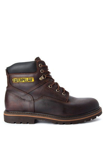 Caterpillar brown Chicago Boots CA367SH02OOVPH_1