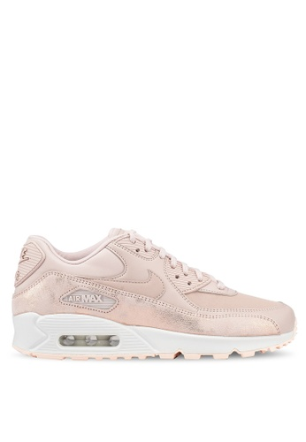 Nike beige Womens Nike Air Max 90 Premium Shoes A24D2SH4A0C3F5GS1