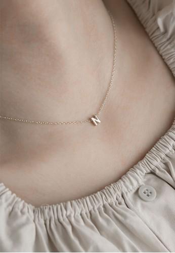 AEROCULATA Aeroculata N Mini Cara Necklace 925 Sterling Silver Silver 4813EACBB60B8FGS_1