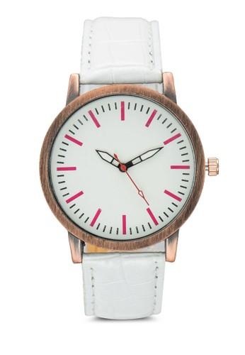 三指針鱷魚圓錶, 錶類, esprit hk store其它錶帶